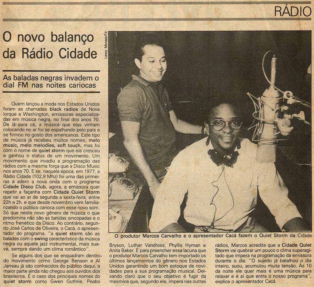 Rádio Cidade do Rio de Janeiro - 102,9 FM