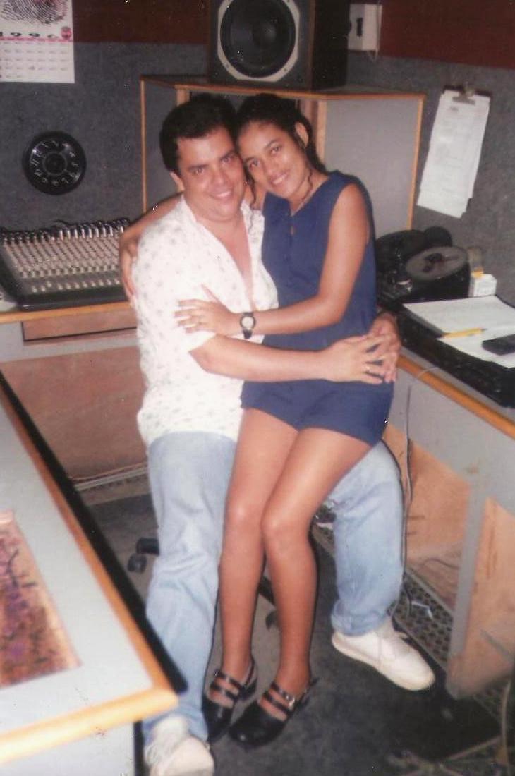 Olinto Miranda e esposa - Rádio Tropical - anos 90