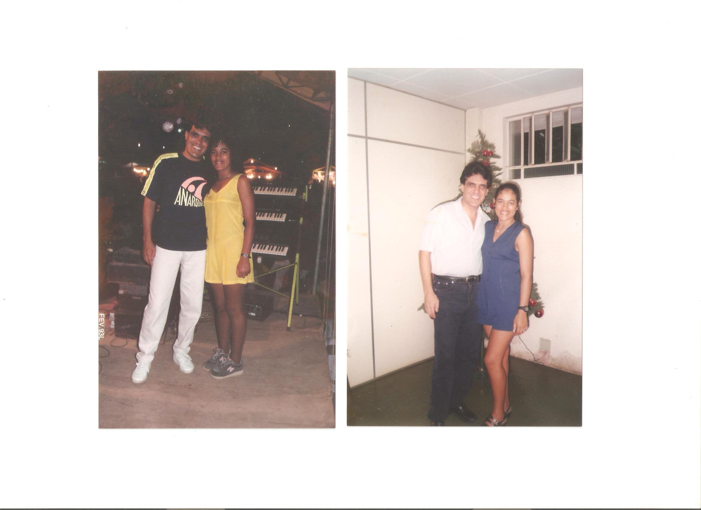 Antário Filho e esposa de Olinto Miranda - Rádio Tropical - anos 90