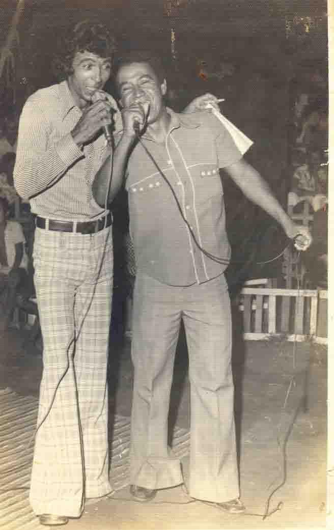 Olegário Gonçalves apresenta Show de Calouros - 1976