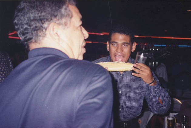 Luis Carlos Peixoto (falecido) e Luis Claudio Silva - Festa da Gazeta