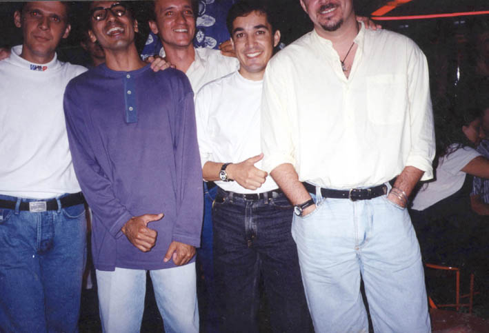 Dedeko, Saul, Gustavo Alves, Ted Conti e Alexandre Mignone - Festa da Gazeta