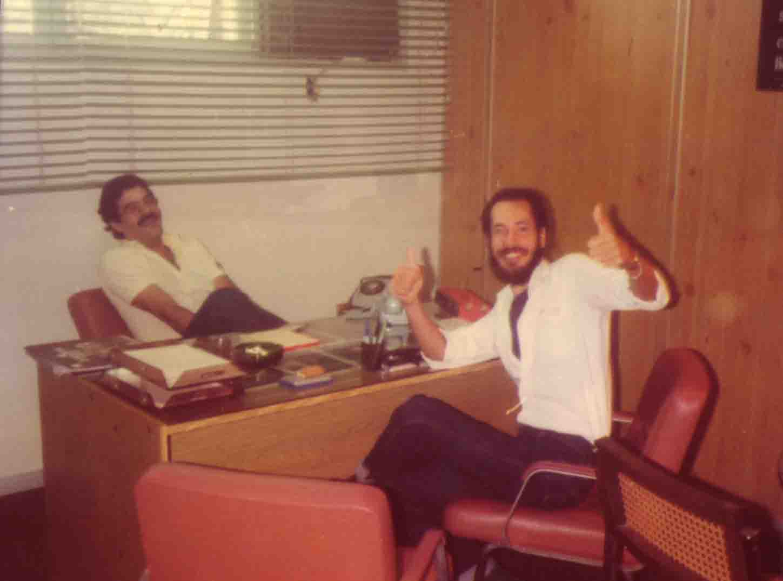 Zé Roberto Mignoni e Edu Henning - Rádio Tribuna FM - 1981