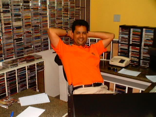 Alcimar Lopes - Locutor da Rádio TransaNorte em Boa Esperança - ES