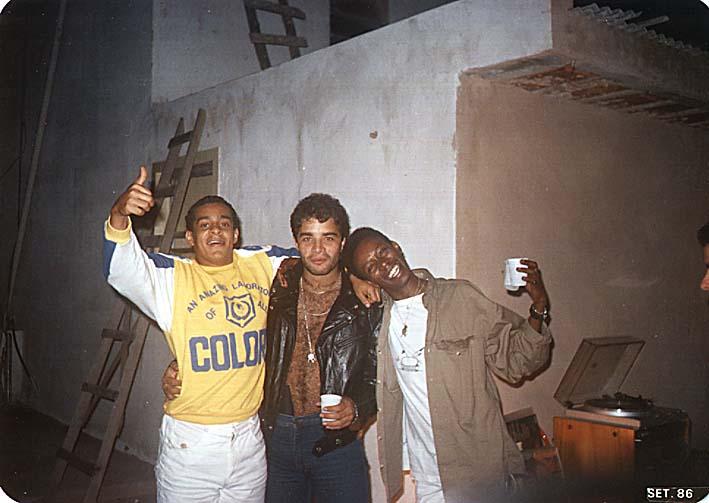DJ Monstrinho, Fábio Pirajá e Chocolate - Setembro de 1986