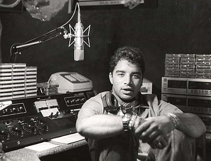 Fábio Pirajá - Estúdio da Rádio Cidade 95,9 - 1986