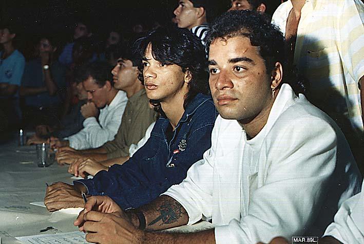 Fábio Pirajá e Emerson Miguel - Campeogatas - ARCI 1989