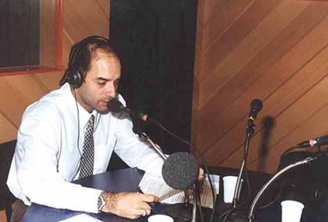Fábio Pirajá - Programa Notícia na Manhã - Rádio CBN 1997