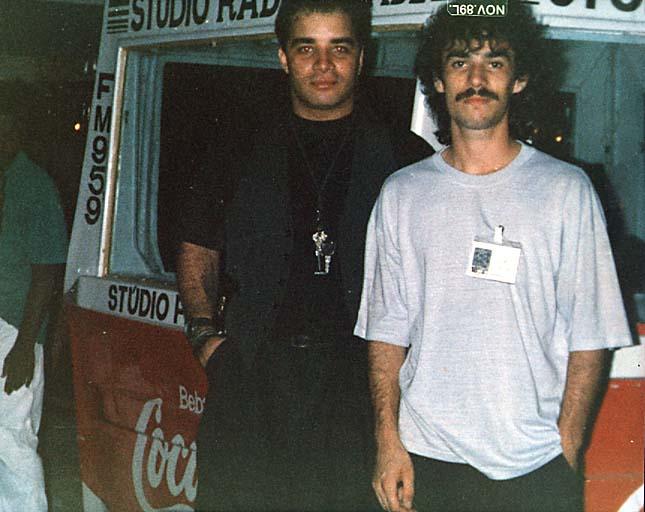 Fábio Pirajá e Kazinho - Feira do Municípios - Novembro de 1989