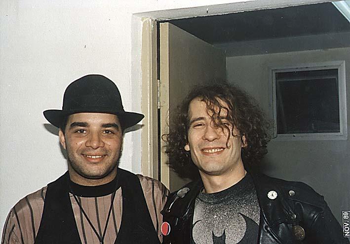 Fábio Pirajá e Kiko Zambianchi - Feira do Municípios - Novembro de 1989